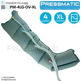 MANKIET UCISKOWY NA NOGĘ PM-4LG-OV-XL LEG OVERLAPPED ROZMIAR  XL - 1
