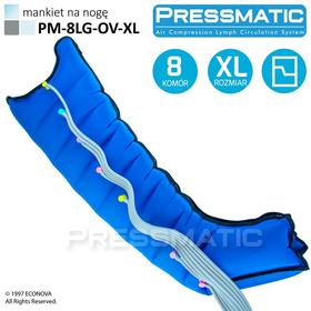 MANKIET UCISKOWY NA NOGĘ PM-8LG-OV-XL LEG OVERLAPPED ROZMIAR  XL - 1