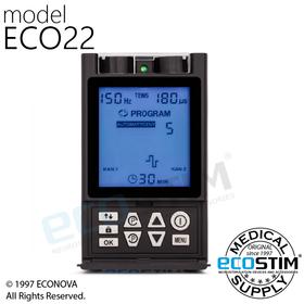 ELEKTROSTYMULATOR PRZECIWBÓLOWY I TRENINGOWY TENS/EMS ECO22 - 1