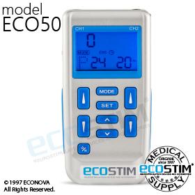 ELEKTROSTYMULATOR PRZECIWBÓLOWY I TRENINGOWY TENS/EMS ECO50 - 0