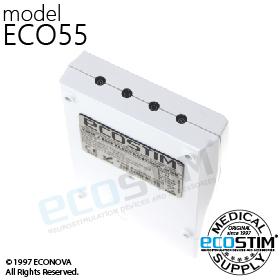 ELEKTROSTYMULATOR PRZECIWBÓLOWY I TRENINGOWY TENS/EMS ECO55 - 1