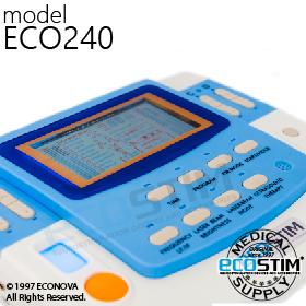 ELEKTROSTYMULATOR PRZECIWBÓLOWY I TRENINGOWY TENS/EMS ECO240 - 1