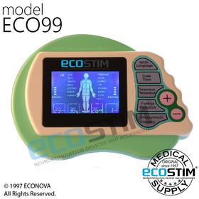 ELEKTROSTYMULATOR PRZECIWBÓLOWY I TRENINGOWY TENS/EMS ECO99 - 0