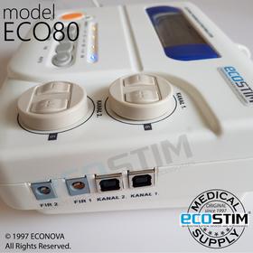 ELEKTROSTYMULATOR PRZECIWBÓLOWY I TRENINGOWY TENS/EMS ECO80 - 1