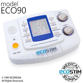 ELEKTROSTYMULATOR PRZECIWBÓLOWY I TRENINGOWY TENS/EMS ECO90 - 0