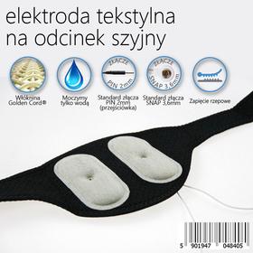 ELEKTRODA ZINTEGROWANA Z PASEM DO ELEKTROSTYMULACJI ODCINKA SZYJNEGO KRĘGOSŁUPA - 0