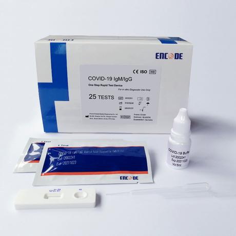 SZYBKI TEST PŁYTKOWY ENCODE SARS-CoV-2 IgM/LgG DO DIAGNOSTYKI PRZESIEWOWEJ DO UŻYTKU PROFESJONALNEGO