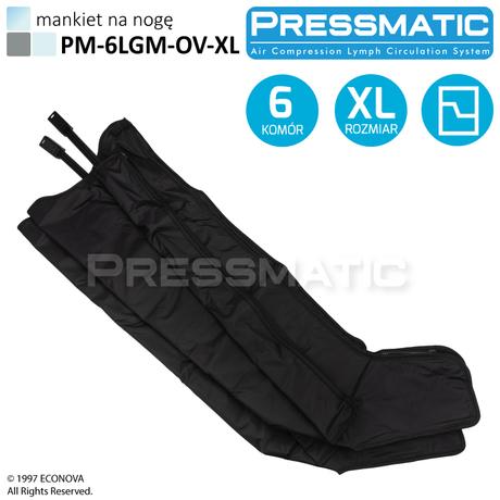 MANKIET UCISKOWY NA NOGĘ PM-6LGM-OV-XL LEG OVERLAPPED ROZMIAR  XL DO PM-6000M