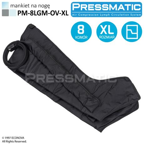 MANKIET UCISKOWY NA NOGĘ PM-8LGM-OV-XL LEG OVERLAPPED ROZMIAR  XL DO PM-8000M