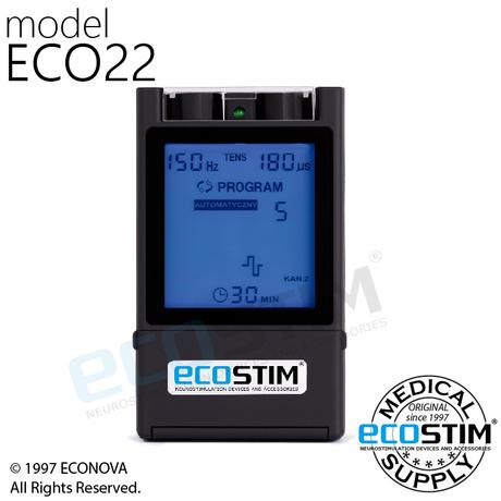 ELEKTROSTYMULATOR PRZECIWBÓLOWY I TRENINGOWY TENS/EMS ECO22
