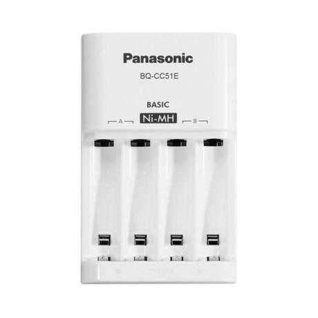 ŁADOWARKA AKUMULATORÓW AA/R6 i AAA/R03 Panasonic Eneloop BQ-CC51E