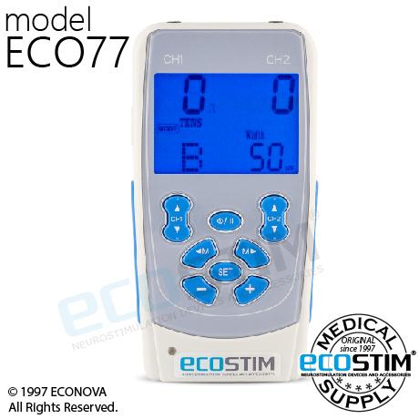 ELEKTROSTYMULATOR PRZECIWBÓLOWY I TRENINGOWY TENS/EMS/IFS ECO77