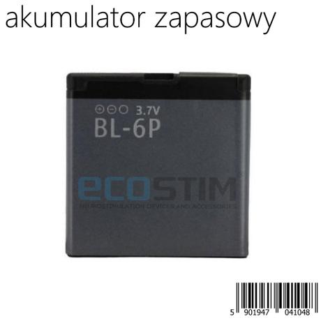 AKUMULATOR LITOWO-JONOWY TYP BL-6P DO MODELI ECO24, ECO54, ECO100