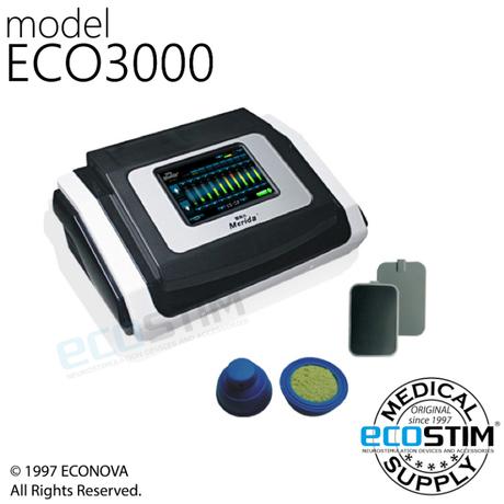 ELEKTROSTYMULATOR TRENINGOWY EMS ECO3000 Z TERMOTERAPIĄ